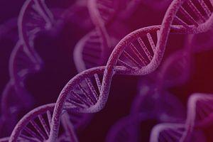 Illustration of DNA.
