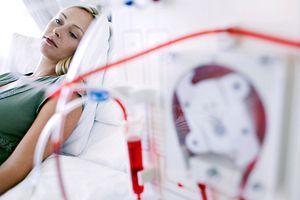 women receiving dialysis