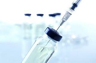 vial and syringe
