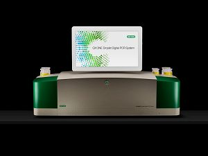 Image of the Bio-Rad QX One instrument used for ddPCR in the molecular biology group for laboratory sciences.